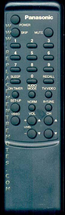 Panasonic EUR641244 TV Remote Control