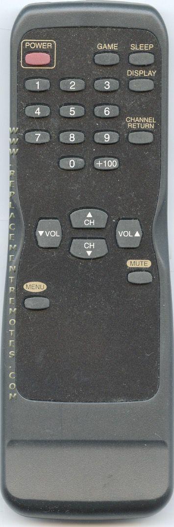 FUNAI N0108UD TV Remote Control