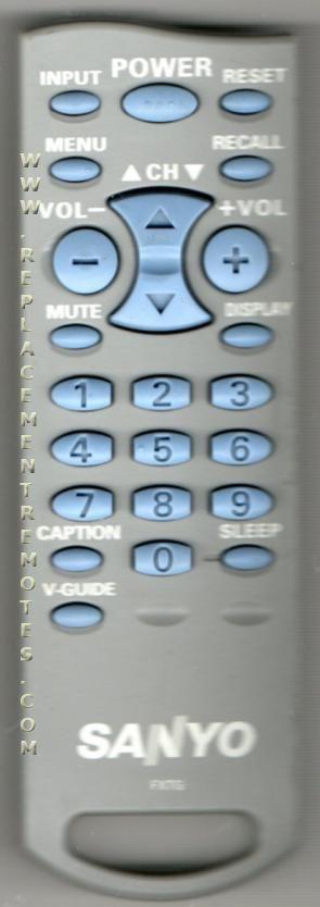 Sanyo gxbm manual ebook array buy sanyo fxtg 6450656910 tv remote control rh replacementremotes com fandeluxe Image collections