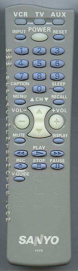 Buy SANYO FXVR -6450588150 TV Remote Control