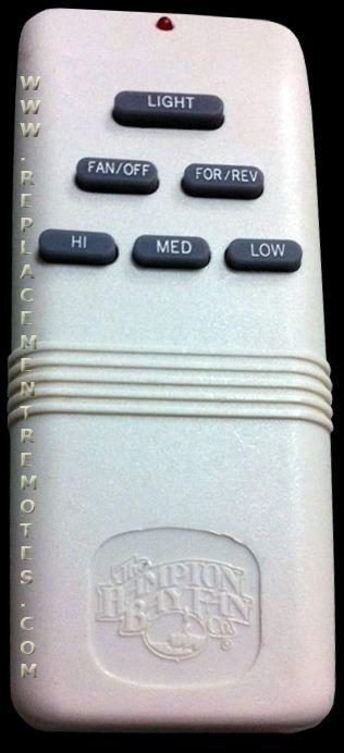 Buy Hampton Bay G9p2btauc7052t Ceiling Fan Remote Control