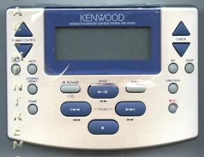 KENWOOD GRCNV501 Audio/Video Receiver Remote Control