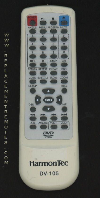 Buy Harmontec Dv105 Remote Control