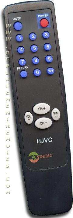 Simple Remote Control for JVC