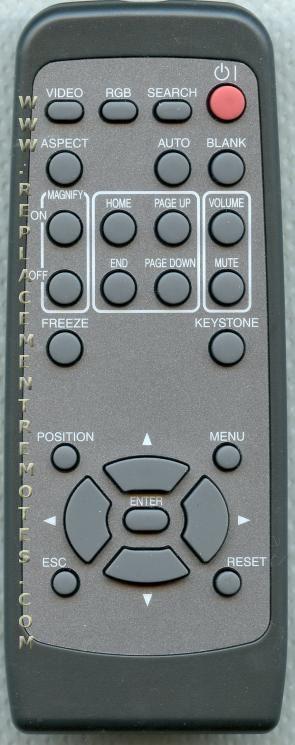HITACHI HL01898 Remote Control