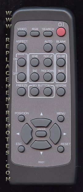 HITACHI R001 Projector Remote Control