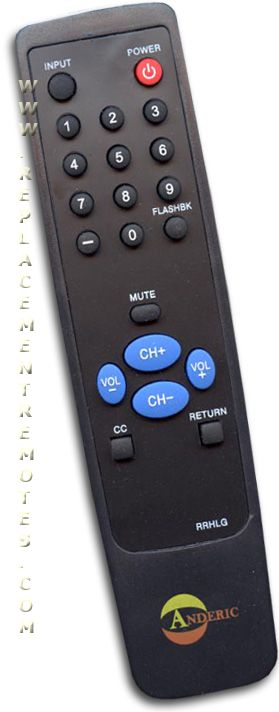 Anderic-Hospitality Simple LG TV Remote Control