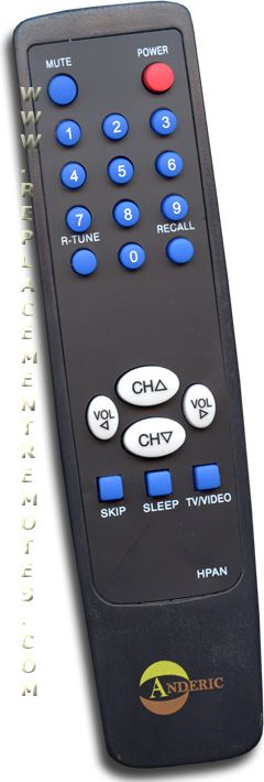 Anderic-Hospitality Simple Panasonic TV Remote Control
