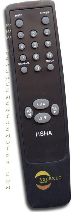 Anderic-Hospitality Simple Remote Control for Sharp TV Remote Control