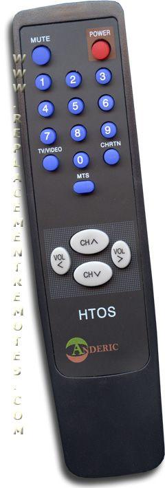 ANDERIC Simple Remote Control for Toshiba TV Remote Control