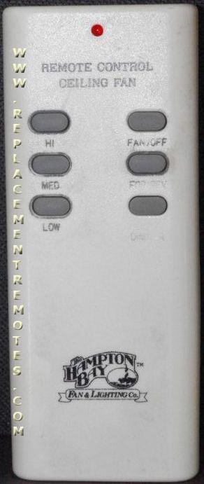 Buy Hampton Bay Uc7030t G9p2btauc7030t Ceiling Fan Remote Control