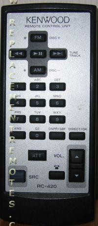 KENWOOD RC420 Remote Control