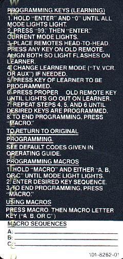 ZENITH InstructionOM Operating Manual