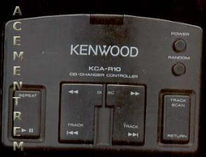 KENWOOD KCAR10 Remote Control