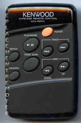 KENWOOD KCAR2FMA Audio System Remote Control