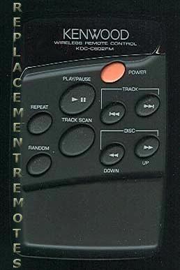 KENWOOD KDCC602FM Remote Control