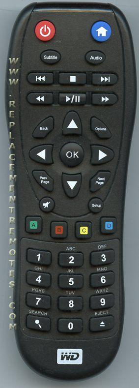Buy Wd Western Digital Kwsb0865f101 Remote Control