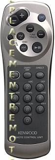 KENWOOD RC600 Audio System Remote Control