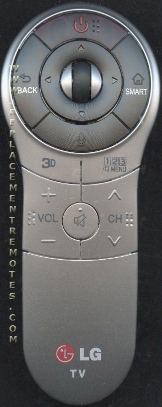 LG ANMR400G TV Remote Control