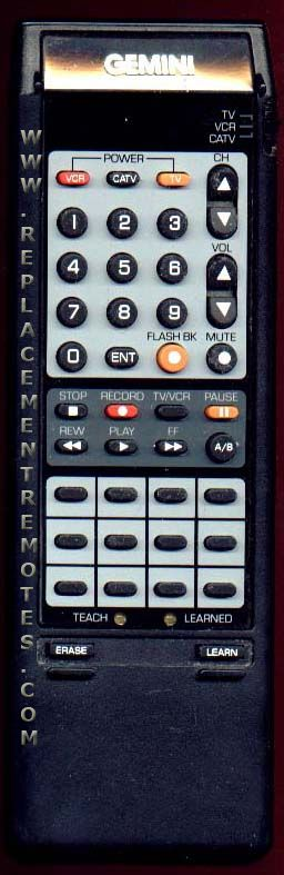 Buy Gemini 124 171 01 Gemlrn 12417101 Tv Vcr Combo Remote