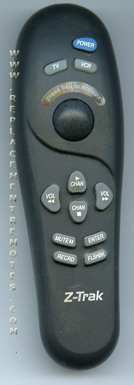 ZENITH MBR1020 Remote Control