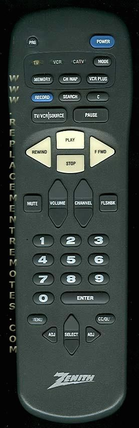 ZENITH MBR4226 Remote Control