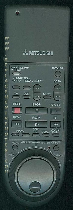 MITSUBISHI 1006 Remote Control