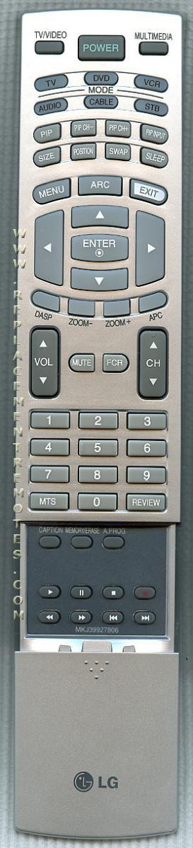 LG MKJ39927809 Remote Control