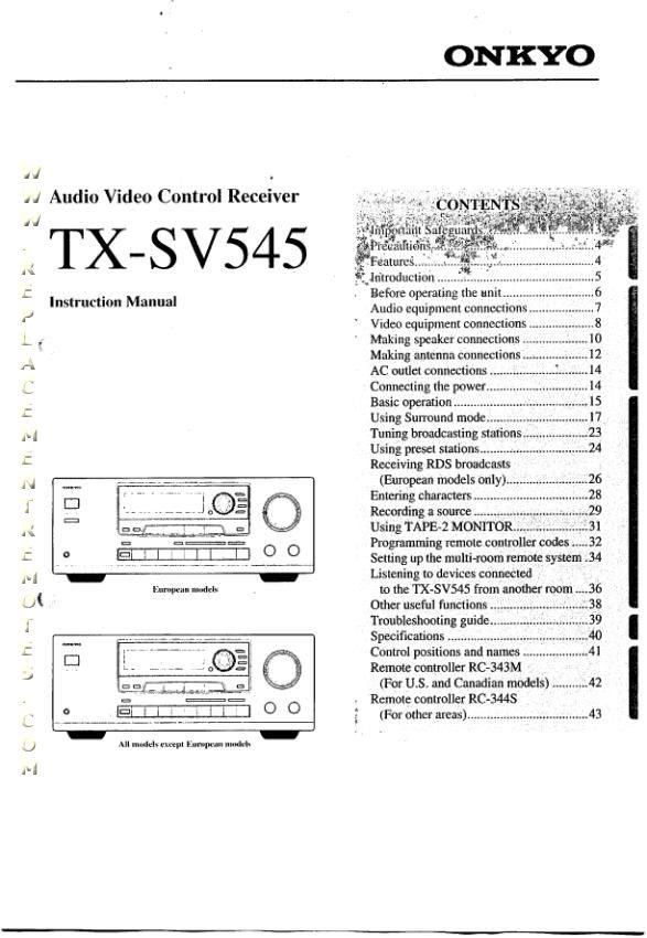 TXSV545OM