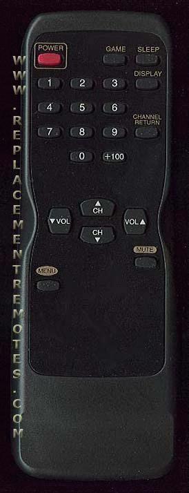 FUNAI N0132UD TV Remote Control