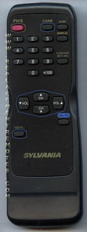 SYLVANIA N0139UD TV Remote Control