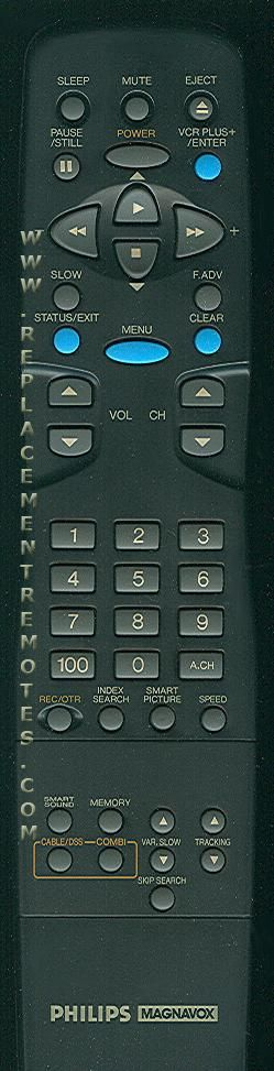 Philips-Magnavox N0300UD VCR Remote Control