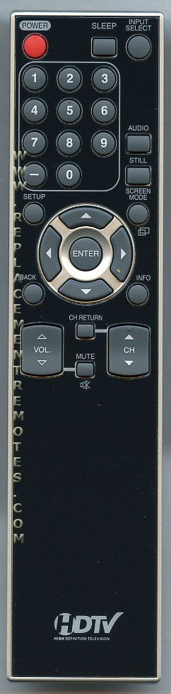 FUNAI NF015UD TV Remote Control