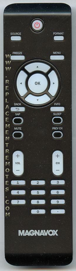 Magnavox NF800UD TV Remote Control