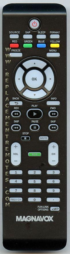 Magnavox NF804UD TV Remote Control