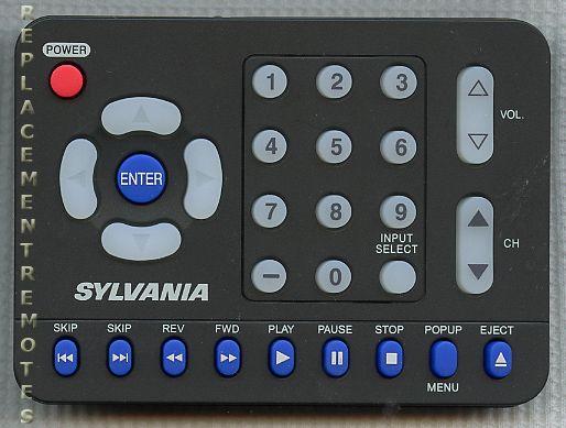 SYLVANIA NH101UF Remote Control