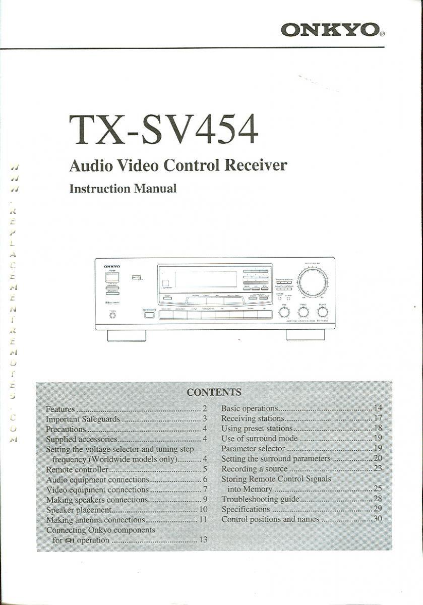 TXSV454OM