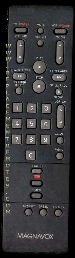 Magnavox PEAC0115 Audio System Remote Control