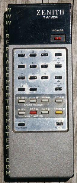 ZENITH 12491 Remote Control