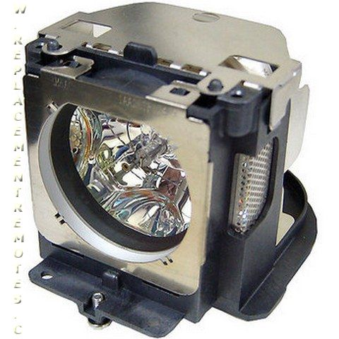 Projector Lamp Assembly with Genuine Original Ushio Bulb Inside. LC-XG400 Eiki Projector Lamp Replacement