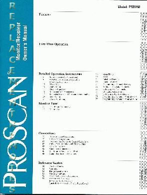 RCA PS35153OM Operating Manual