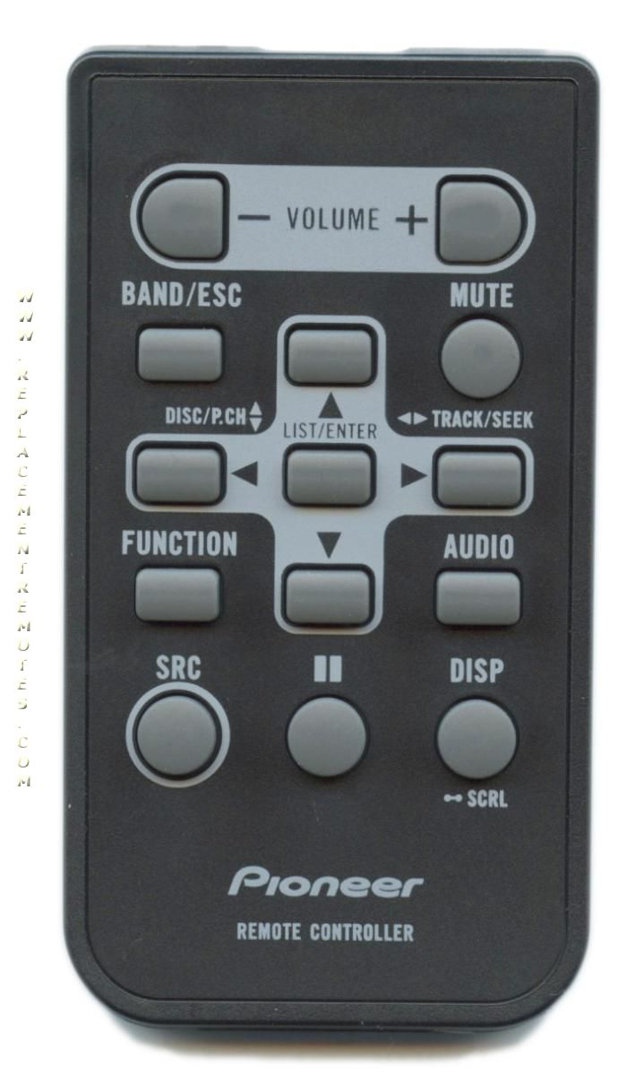 PIONEER QXE1047 Car Audio System Remote Control