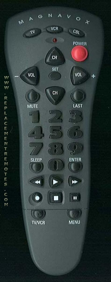 Magnavox R80015 3-Device Universal