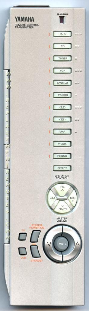 YAMAHA RAV150 Audio/Video Receiver Remote Control