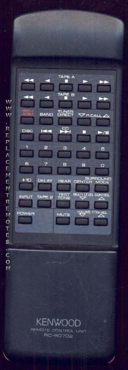 KENWOOD RC0702FM Remote Control