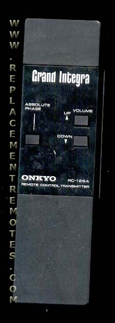 ONKYO RC126A Remote Control