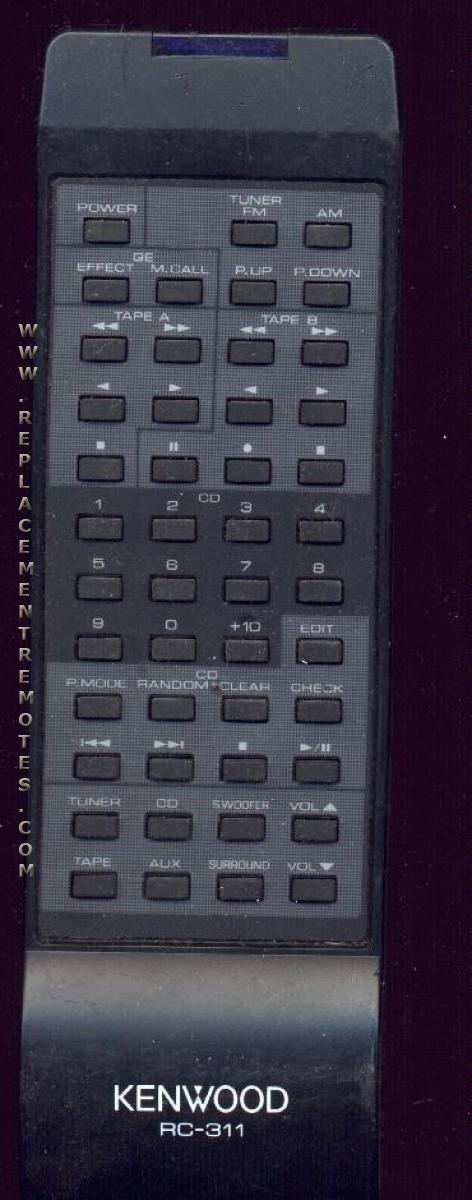 KENWOOD RC311 Remote Control
