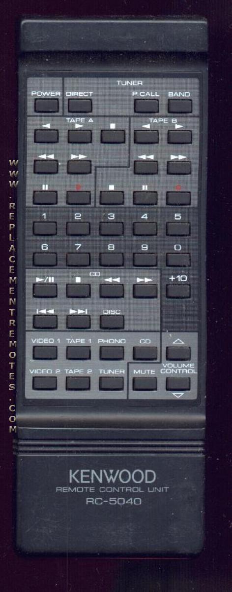 KENWOOD RC5040 Remote Control