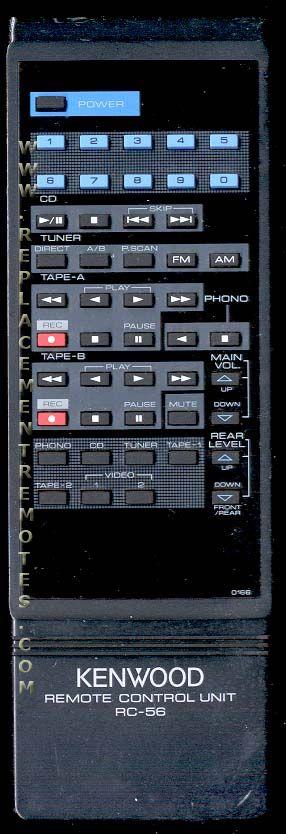 KENWOOD RC56 Remote Control