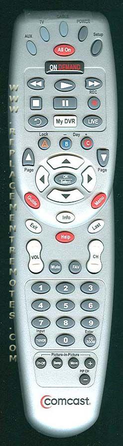 COMCAST Xfinity RC1475501//00MB Universal Remote Control